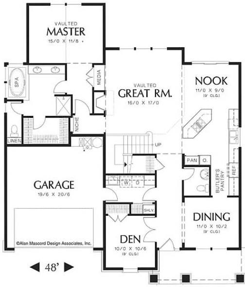 Spokane home builders new home construction eastern for Western homes floor plans